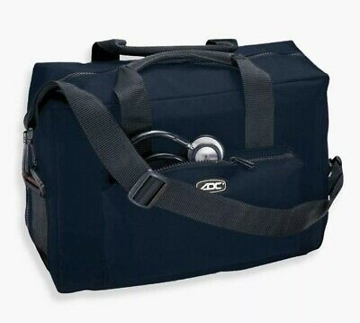 New ADC 1024 Nurse/Physician Nylon Medical Equipment Instrument Bag Navy (Adc Nylon Medical Bag)