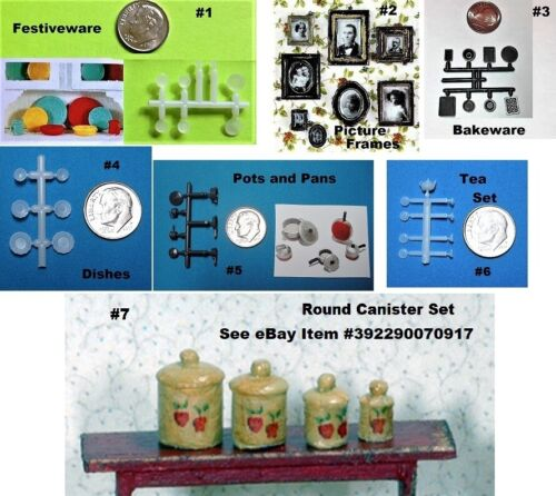 Dollhouse Miniature Quarter Scale Kit - 7 to Choose From - Choice of 1