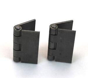 Heavy Duty Weldable Pair 3 X 3 Gate Hinges Steel Butt Hinge Hvy Gates Doors