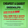 GREENSLIPS LOW PRICE Wetherill Park Fairfield Area Preview