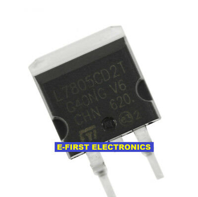 50pcs To-263 Smd L7805cd2t 7805 L7805c2t Three-terminal Regulator
