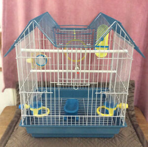 Like New Bird Cage with many accessories. $60.00