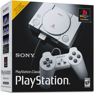 New PLAYSTATION 1 CLASSIC Mini Console (w/store receipt) PS1