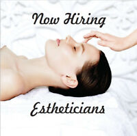 Esthetician - Full Time & Benefits