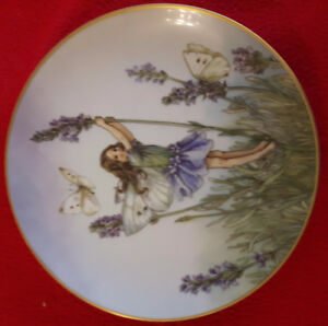 The Lavender Fairy Plate
