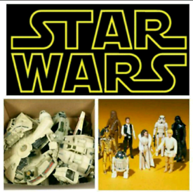 Wanted Star Wars and 1980's toys