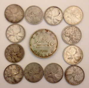 Silver Canadian Coins Pre-1967