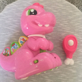 Baby Clemonti Pink Baby T-Rex Fully Working (12 Months - 36 Months)
