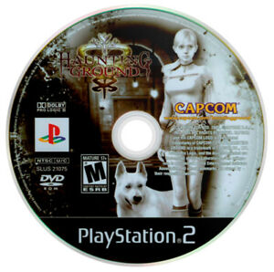 Haunting Ground PS2 PlayStation 2 game