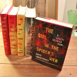 Stieg Larsson - The Girl With The Dragon Tattoo + 4 More All H/C