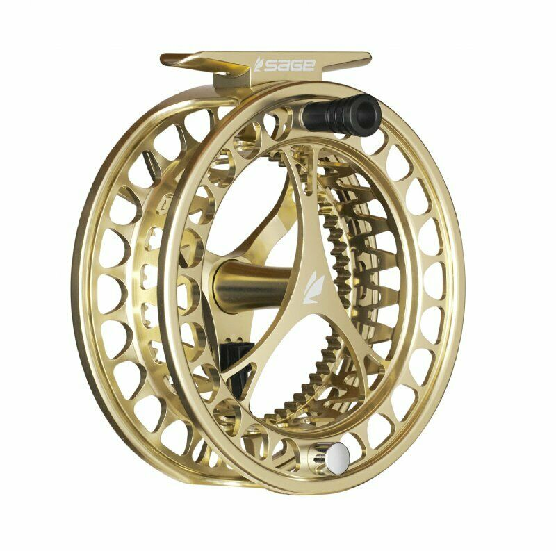 Sage Click 4/5/6 Fly Reel - Color Champagne - NEW - FREE FLY