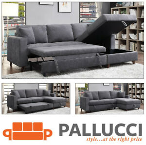 AVRIL SECTIONAL SOFABED W/STORAGE - $1499 NO TAX - FREE DELIVERY
