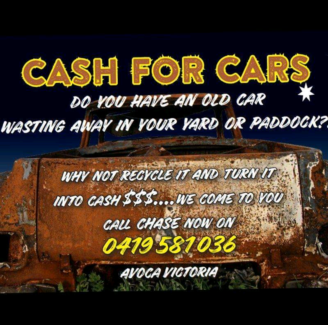 Old Cars wanted Avoca Pyrenees Area Preview