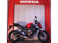 Honda CB650 FREE SERVICE PACK, 0% FINANCE