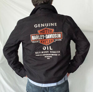 Harley Manteau nylon, SMALL ou MEDIUM, 60$ ch.