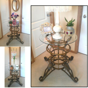 Gorgeous Scroll Legs Console / Sofa / EntrywayTable