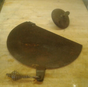 Antique Old wood stove parts