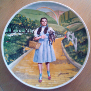 Wizard of Oz Collector Plates