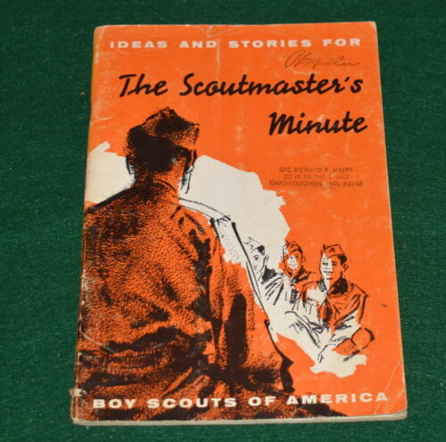 BOY SCOUT - 1958 THE SCOUTMASTER