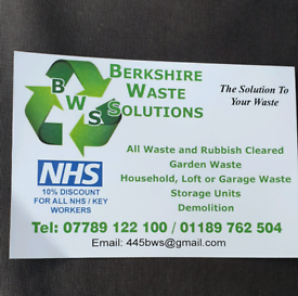 RUBBISH CLEARANCE WASTE HOUSE GARAGE GARDEN SHED PROBATE READING BERKS
