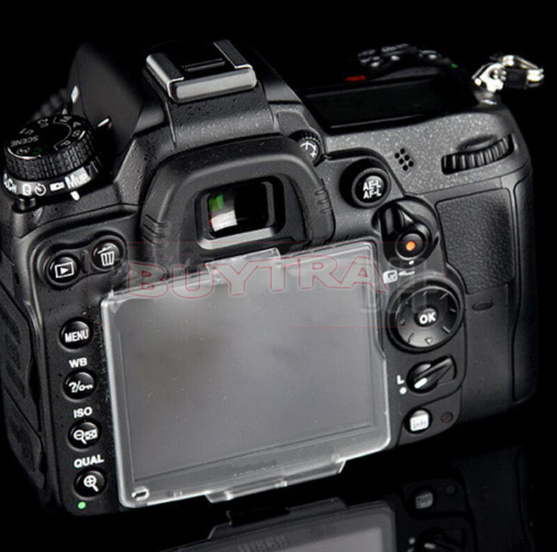 NEW  Best Clipped Hard LCD Cover Screen Protector For Nikon D7000 BM-11 I KCACA