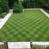Lawn cutting and property management