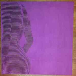 Woman silhouette painting