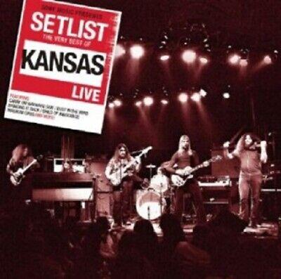 KANSAS - SETLIST: THE VERY BEST OF KANSAS LIVE  CD CLASSIC ROCK & POP (Best Classic Rock List)