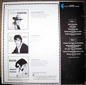 Elvis Christmas Album (1970) LP London Ontario image 2