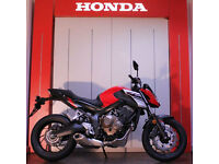 Honda CB650 0% PCP FINANCE