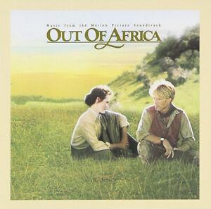 OUT OF AFRICA OST Vinyl Album - Academy Award Winning Soundtrack