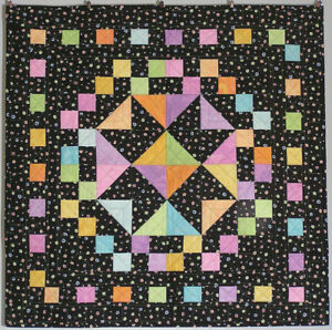 Baby Brights baby quilt