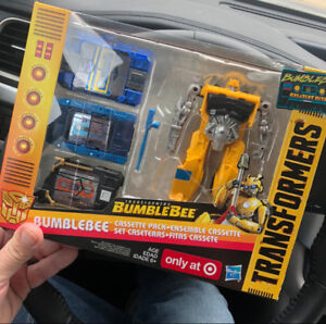 RARE Transformers Bumblebee Greatest Hit Cassettes Target Excl