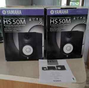 HS 50M Yamaha Near Field Studio Monitors