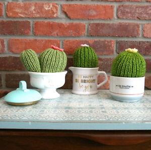 Cactus au crochet (déco)