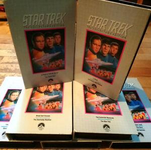 Star Trek Original Series VHS Tapes