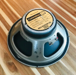 Rare Vintage 1976 Celestion G12M Amplifier Speakers