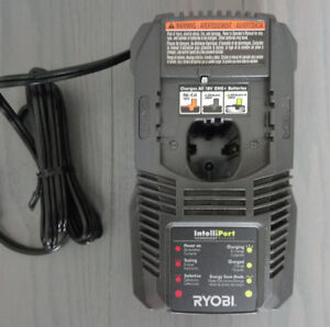 New! Ryobi Lithium Ion Dual Chemistry Battery Charger
