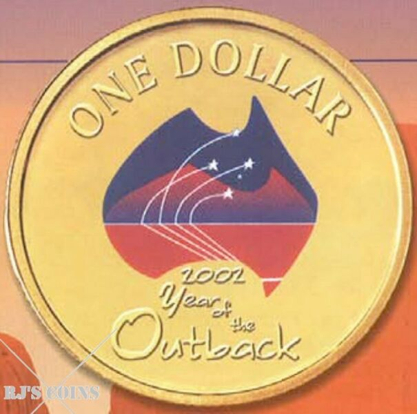 Australian 2002 Proof Six Coin Year Set from the Royal Australian Mint – Year of the Outback