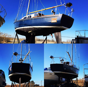 "29' Cascade Sailboat - American Made ""Bullet Proof Hull"""