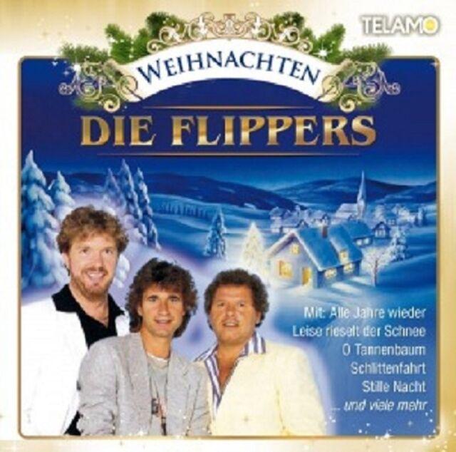 DIE FLIPPERS - WEIHNACHTEN-DIE FLIPPERS  CD  14 TRACKS WEIHNACHTSLIEDER  NEU
