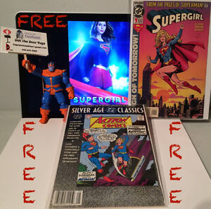FREE SUPERGIRL Comic Books #1 & Action Comics 252