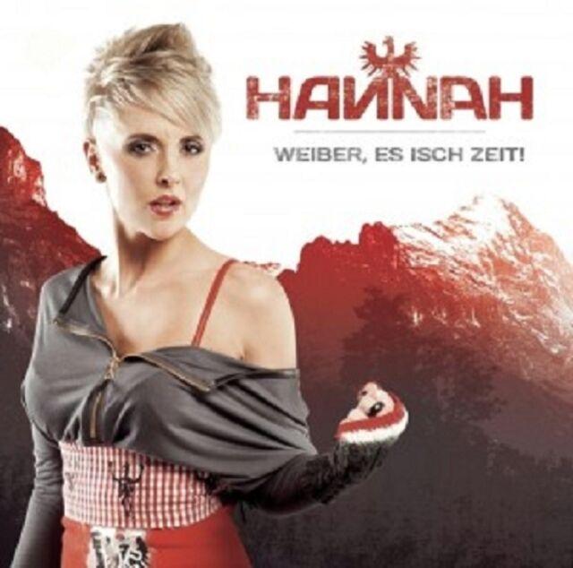 HANNAH - WEIBER,ES ISCH ZEIT!  CD NEU