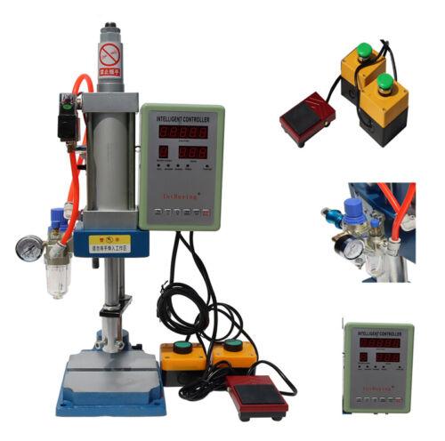 1 PC Pneumatic Punch Machine 300KG Pressure w/Manual&Foot Controller CNC 230011