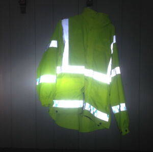 Reflective Jacket high visibility.