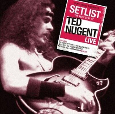 TED NUGENT - SETLIST-THE VERY BEST OF TED NUGENT LIVE CD CLASSIC ROCK & POP (Best Classic Rock List)