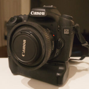 Canon 50d excellente condition-poignée-batteries-24gig de cartes