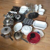 Pots,pans,dishes,utensils, lagostina