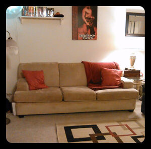 Full sized couch good condition need gone asap