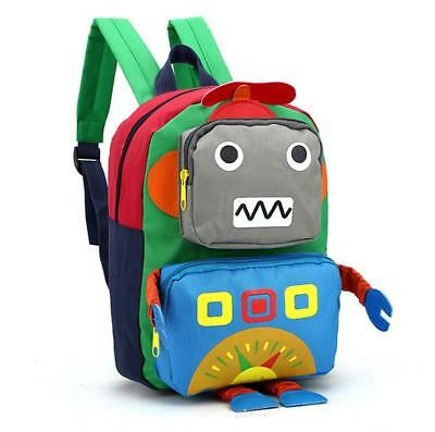 New Toddler Kid Children Boy Girl 3D Cartoon Backpack School Bag Kindergarten